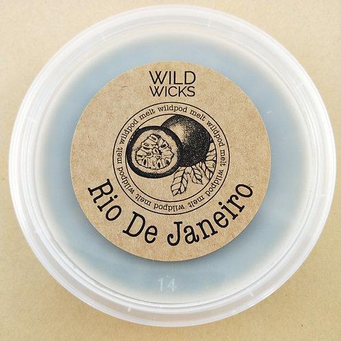 Rio De Janeiro Wildpod Soy Wax Melt