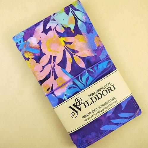 Wilddori 'Purple Dragonfly' Traveler's Notebook Journal
