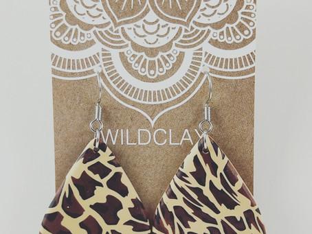 Leopard Print Earrings...