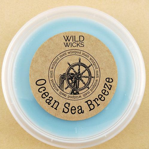 Ocean Sea Breeze Wildpod Soy Wax Melt