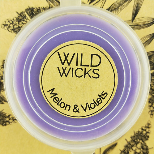 Wild Wicks Melon and Violets Soy Shot