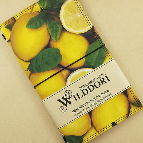 Wilddori 'Lemons' Traveler's Notebook Journal