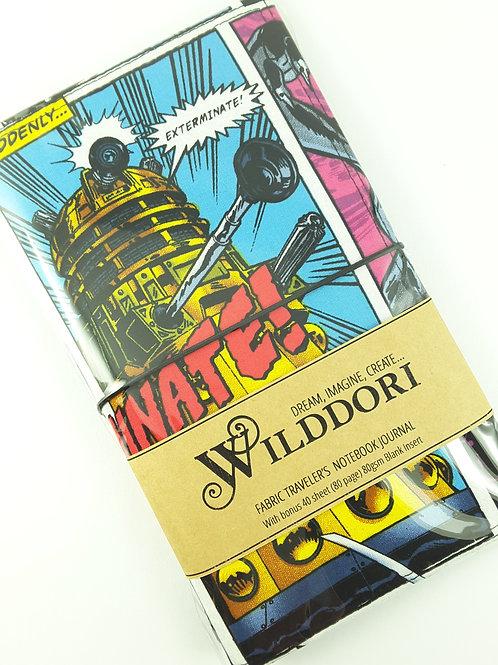 Wilddori 'Exterminate' Traveler's Notebook Journal