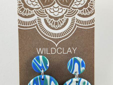 Wildclay Polymer Clay Earrings