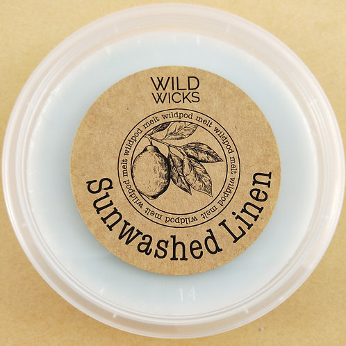 Sunwashed Linen Wildpod Soy Wax Melt