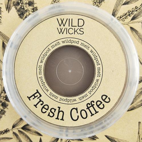 Wild Wicks Fresh Coffee Wildpod Soy Melt