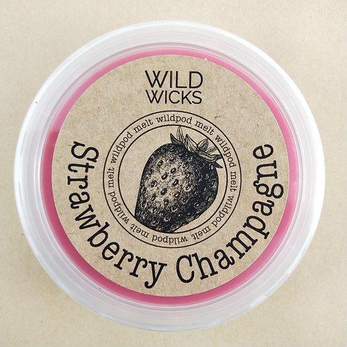 Strawberry Champagne Wildpod Soy Wax Melt