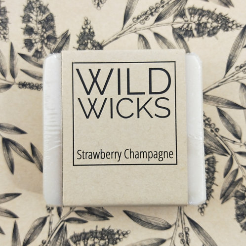Wild Wicks Strawberry Champagne Cold Processed Soap