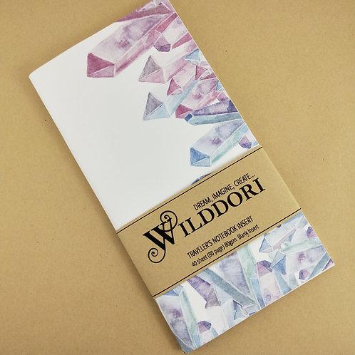 Wilddori 'Crystal Wonderland Prisms' Blank Regular Traveler's No