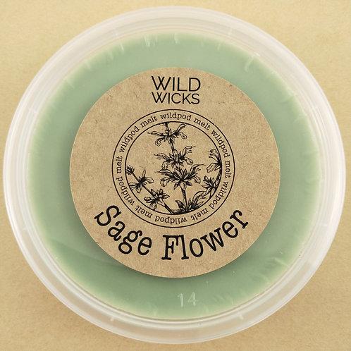 Sage Flower Wildpod Soy Wax Melt