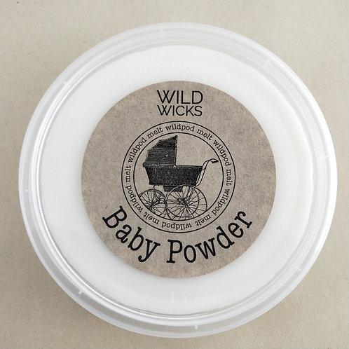 Baby Powder Wildpod Soy Wax Melt