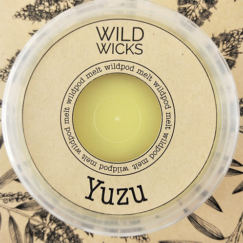 Wild Wicks Yuzu Wildpod Soy Melt