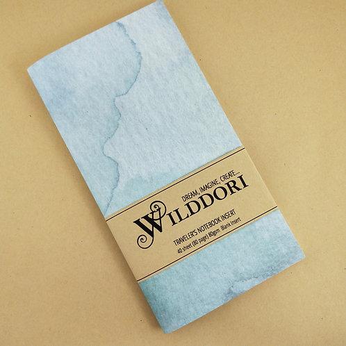 Wilddori 'Crystal Wonderland Ocean' Blank Regular Traveler's No