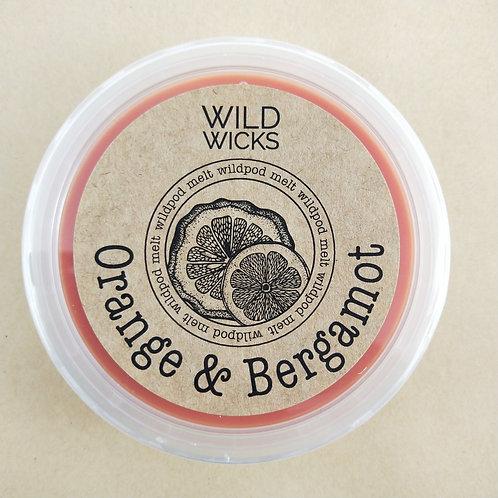 Orange Bergamot Wildpod Soy Wax Melt