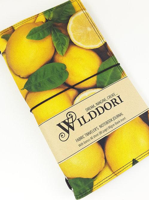 Wilddori 'Lemons' Traveler's Notebook Journal