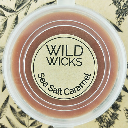 Wild Wicks Sea Salt Caramel Wildshot Soy Melt