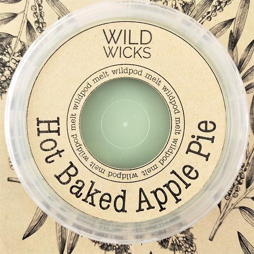 Wild Wicks Hot Baked Apple Pie Wildpod Soy Melt