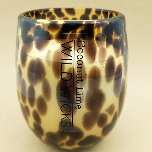 Wild Wicks Wild Vintage Leopard CocoSoy Candle