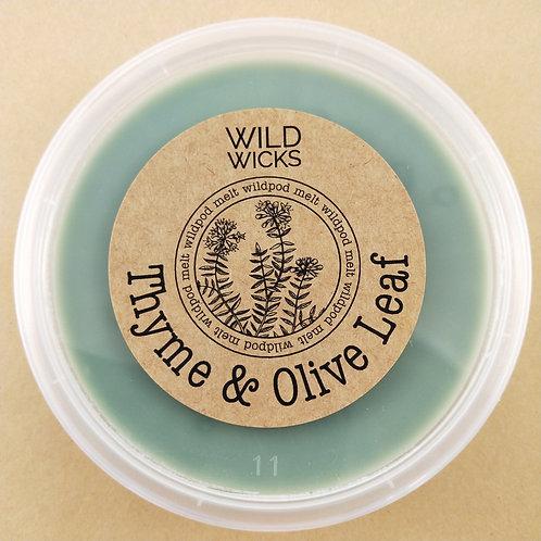 Thyme & Olive Leaf Wildpod Soy Wax Melt