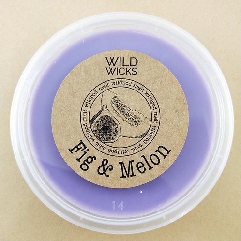 Fig & Melon Wildpod Soy Wax Melt