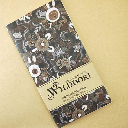 Wilddori 'Spring Journey' Blank Regular Traveler's Notebook Insert