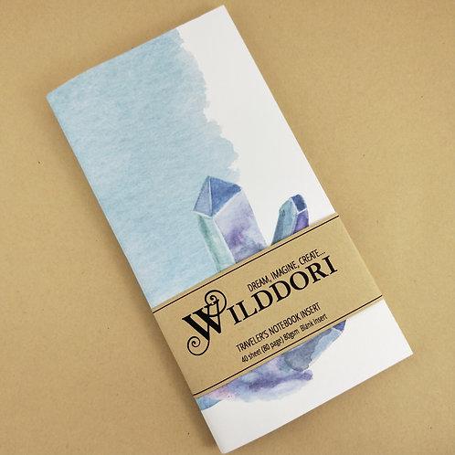 Wilddori 'Crystal Wonderland Cluster' Blank Regular Traveler's No