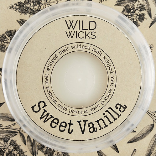 Wild Wicks Sweet Vanilla Wildpod Soy Melt