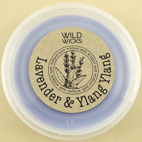 Lavender & Ylang Ylang Wildpod Soy Wax Melt