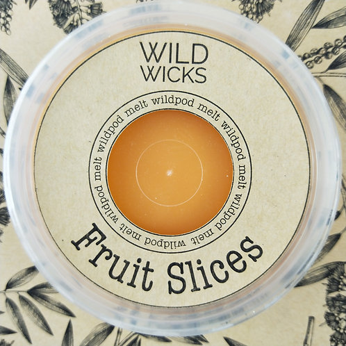 Wild Wicks Fruit Slices  Wildpod Soy Melt