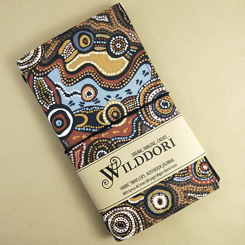 Wilddori 'Desert Wind' Traveler's Notebook Journal