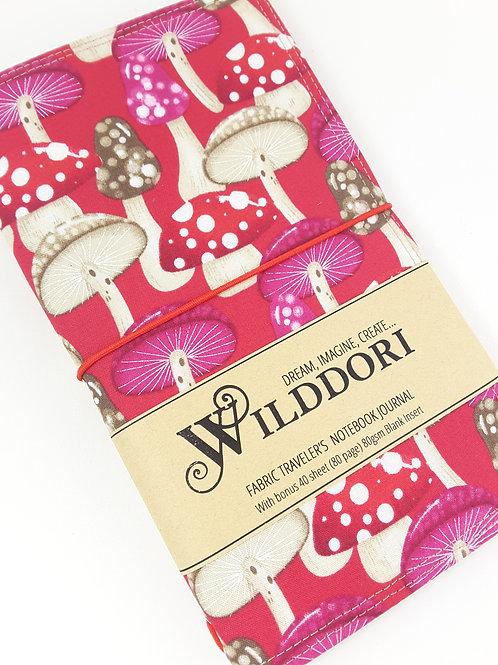 Wilddori 'Magical Mushrooms' Traveler's Notebook Journal
