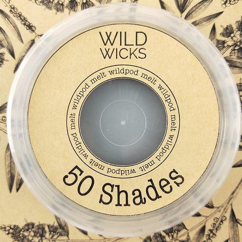 Wild Wicks 50 Shades  Wildpod Soy Melt