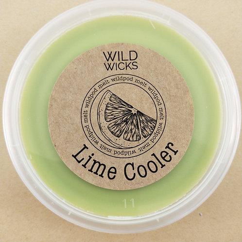 Lime Cooler Wildpod Soy Wax Melt