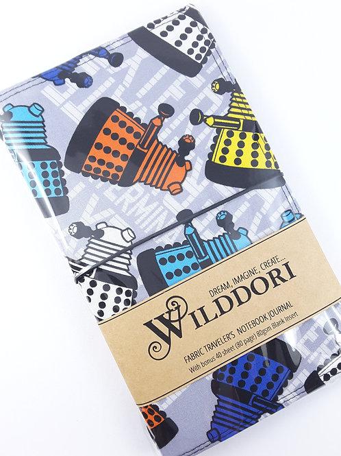 Wilddori 'Exterminate the Alien' Traveler's Notebook Journal