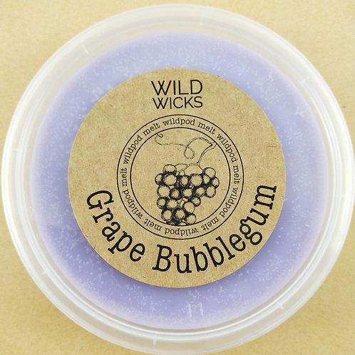 Grape Bubblegum Wildpod Soy Wax Melt