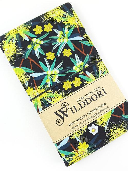Wilddori 'Native Wattle' Traveler's Notebook Journal