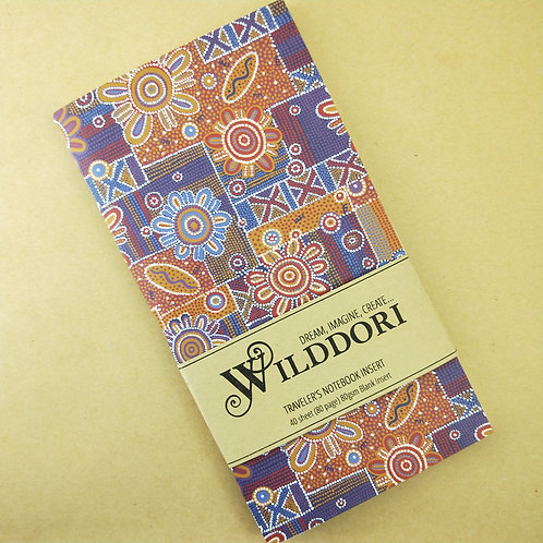 Wilddori 'Spinifex' Blank Regular Traveler's Notebook Inser