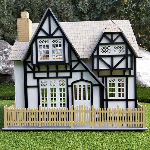 Princess Series 'Louisa Lane Drew' Wooden DIY Dollhouse Kit.