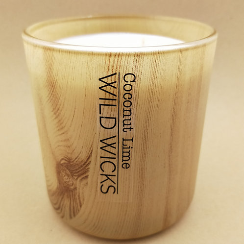 Wild Wicks Wild Wood CocoSoy Large Vogue Woodgrain Candle