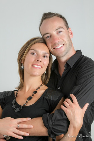 Portrait couple en studio - Arnaud Reichert Photographe