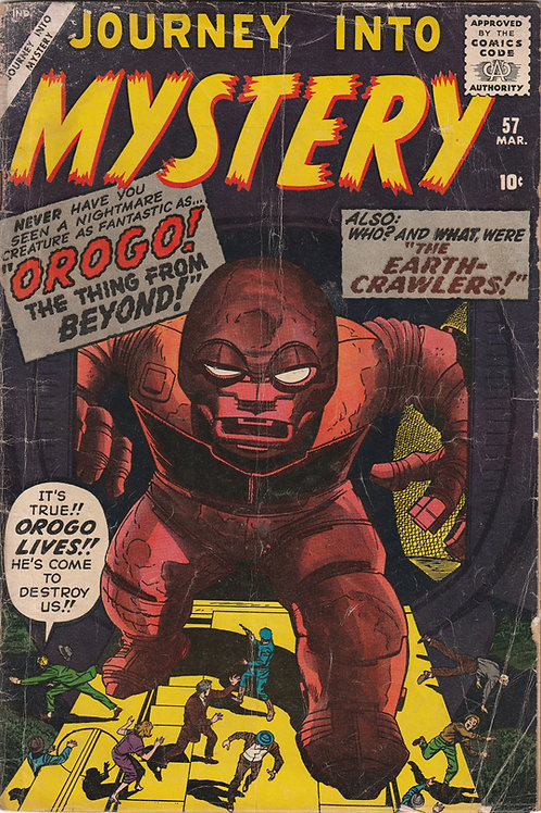 Journey into Mystery# 57