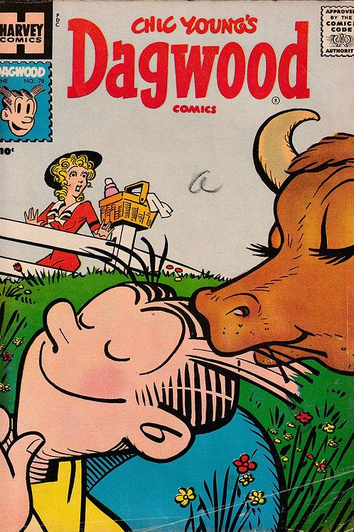 Chic Young's Dagwood Comics  # 78