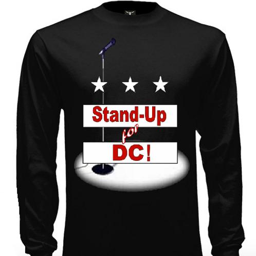 SU4DC_Long Sleeve T-Shirt_Black_2 Colors