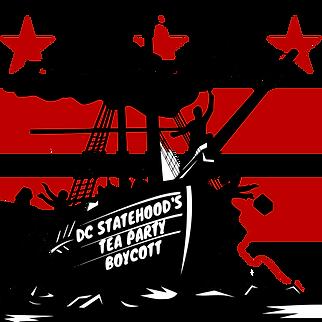 DC Statehood's Tea Party Boycott Ship.pn