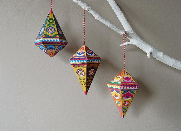 Folk Gems DIY Decor Pack
