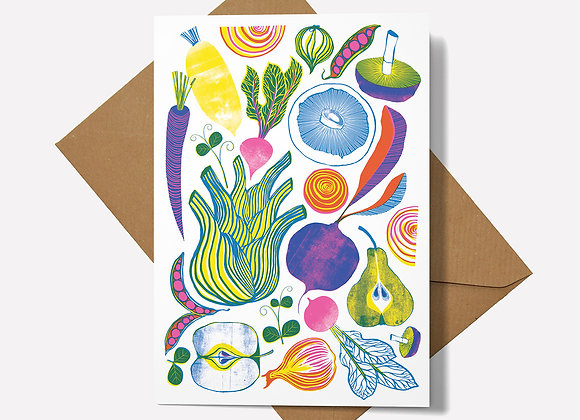 Roots, Fruits & Shoots Card