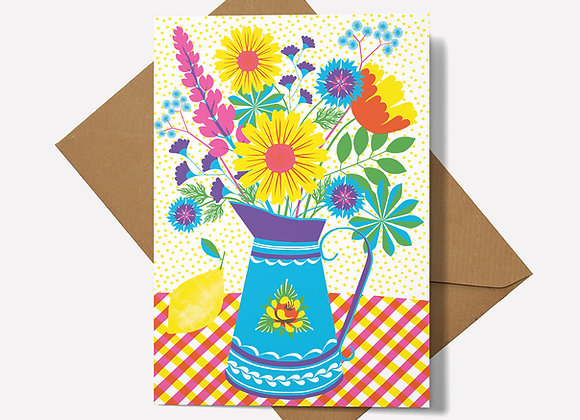 Summer Blooms Card