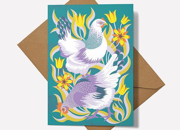 Hens Card