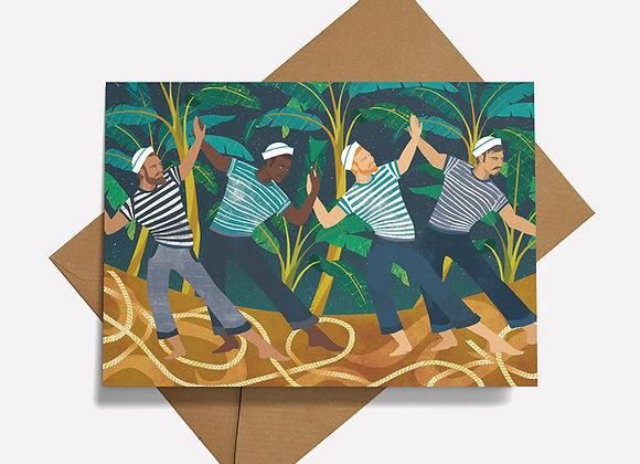 Dance of the Sailors Card