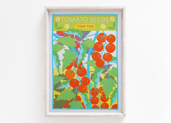 Tomato A4 Risograph Print
